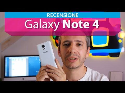 Samsung Galaxy Note 4 la recensione di HDblog.it
