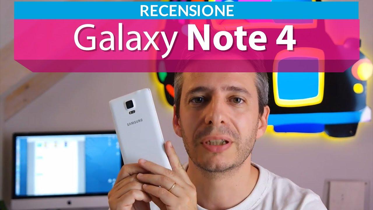 Samsung Galaxy Note 4 la recensione di HDblog.it
