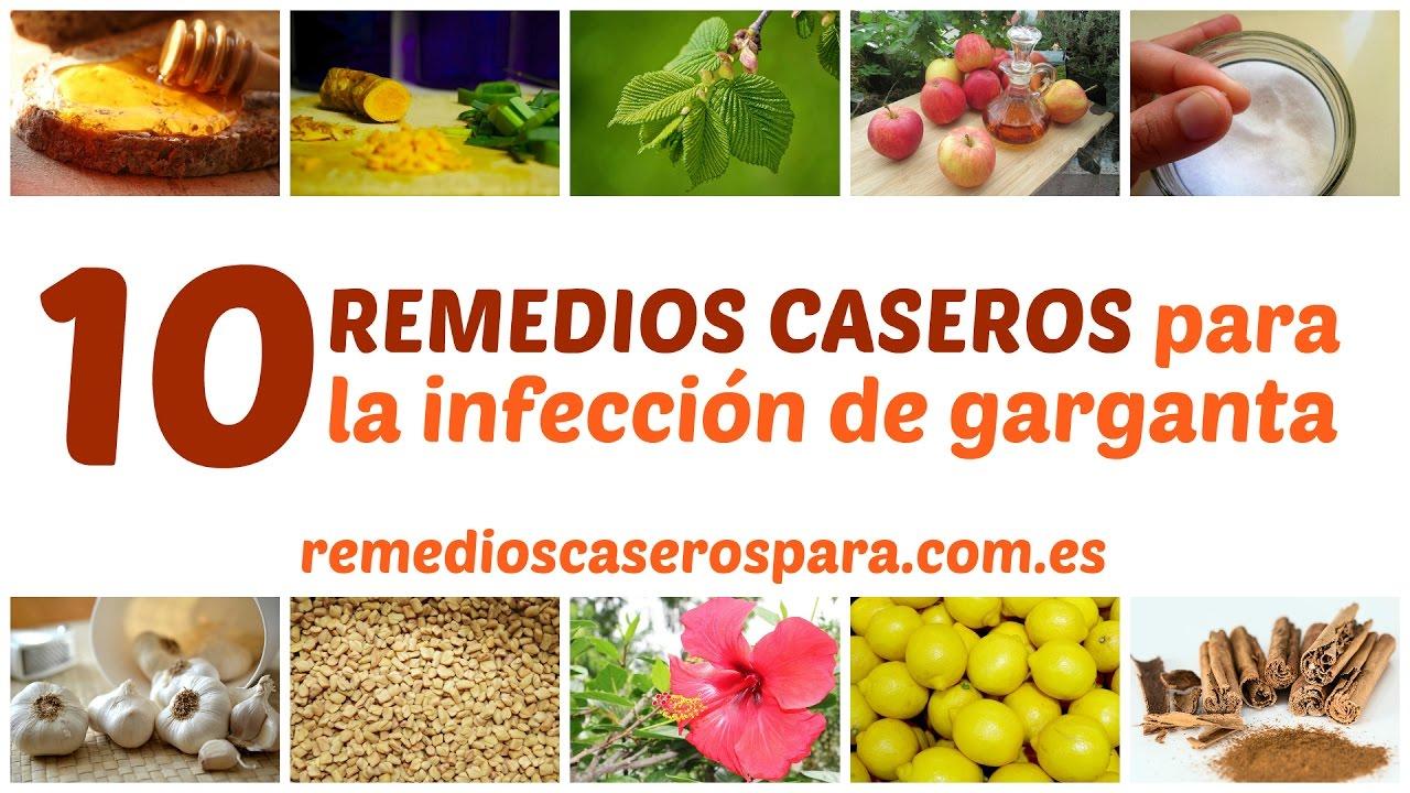 remedios caseros para la infeccion de la garganta