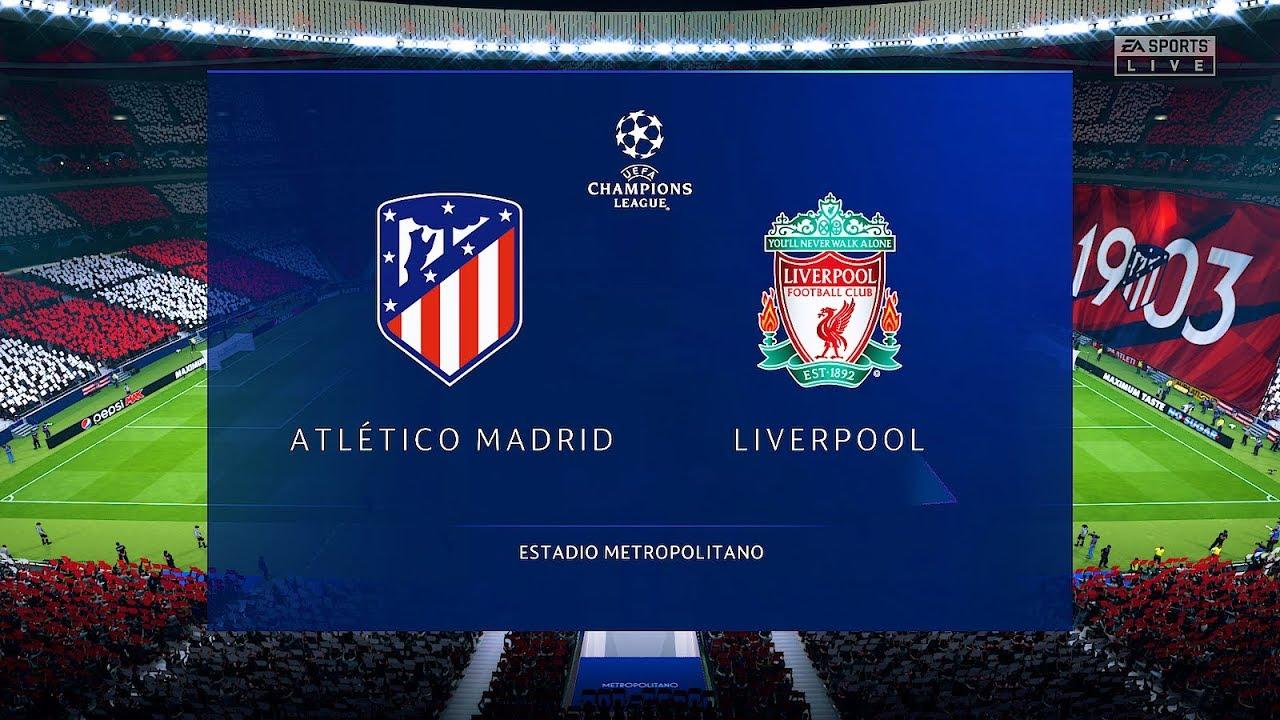 Liverpool vs Atletico Madrid - Champions League 2019/2020 - YouTube