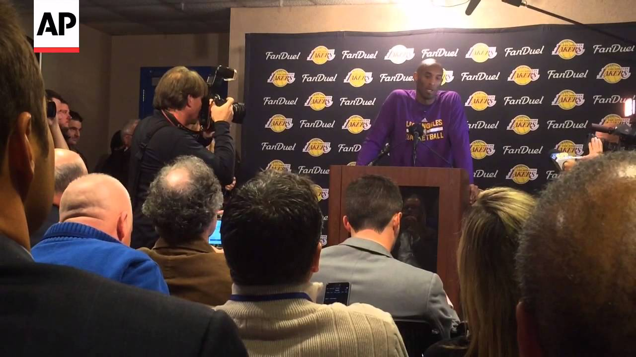 Kobe Bryant Speaks In Spanish About NBA Career - YouTube