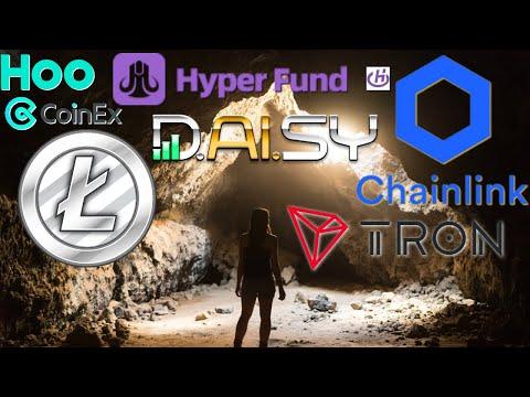 Crypto Income Report: Link VS LiteCoin. TRX Trades. Daisy EndoTech HyperFund Torque Quibittech LTC