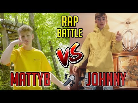 MATTYBRAPS VS JOHNNY ORLANDO | *NEW* RAP BATTLE (2018)