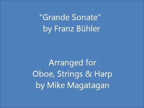 """""""Grande Sonate"""" for Oboe, Strings & Harp"""