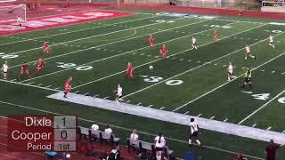 Dixie vs cooper jv soccer