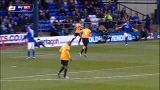 GOAL: Nahki Wells - Oldham Athletic vs Bradford City