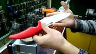 видео Как правильно заточить керамический нож