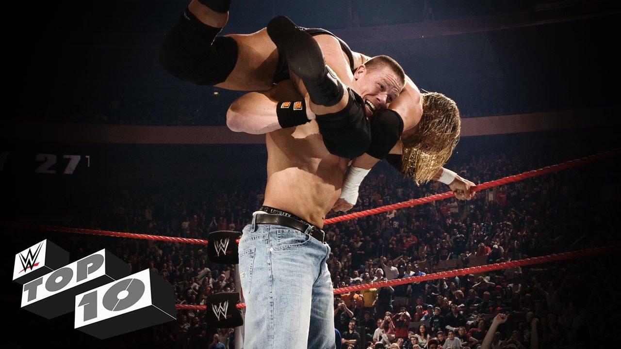 Dramatic Rumble Endings - WWE Top 10