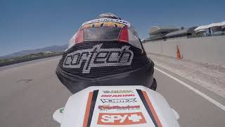 TrackStar Racing Ryan Richardson 2016 RD4 USBA Moto 2 at Utah Motorsport Campus