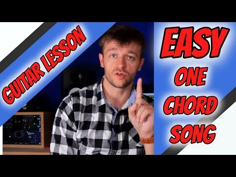 easy-beginner-guitar-lesson---one-chord-song---the-lime-and-the-coconut