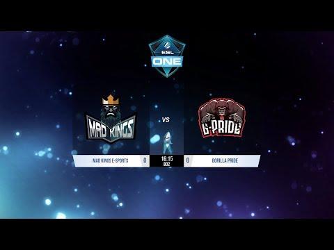 Dota 2 | Mad Kings vs Gorilla Pride | ESL One Birmingham Sudamerica