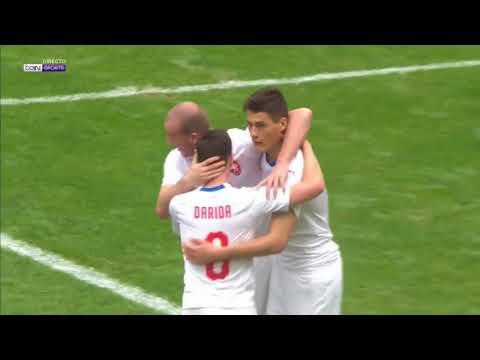 China vs Czech Republic 1 4 All Goals & Highlights