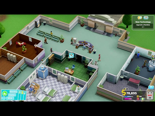 Two Point Hospital - Ep 2 - Lower Bullocks