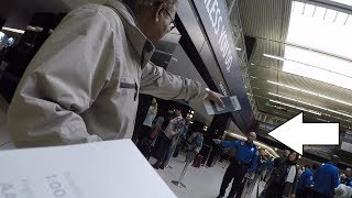 Chaos in the Seatac airport ! Vlog 6 | 2017