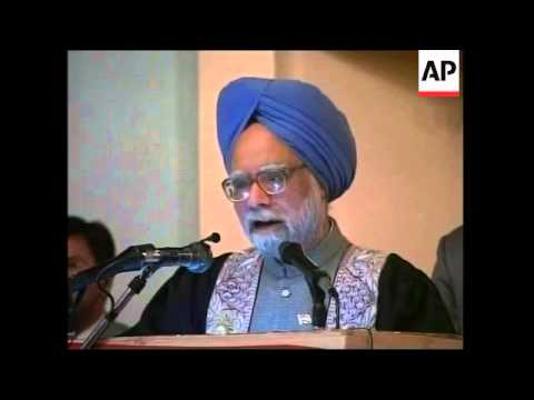 Singh speech during visit; rally; Indian troops leaving
