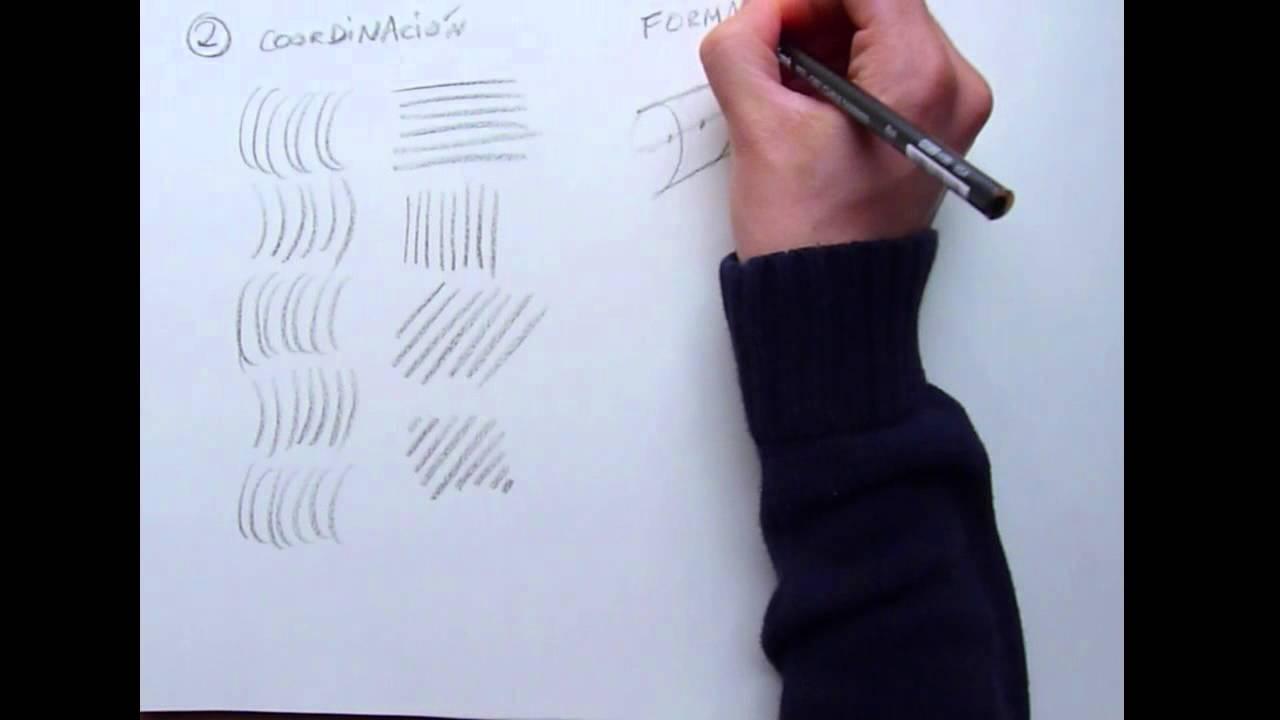 Tecnicas Para Aprender A Dibujar El Trazo Y Ejercicios Para Calentar