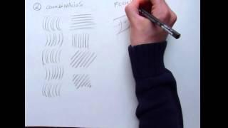 Tecnicas para aprender a dibujar - el trazo y ejercicios para calentar
