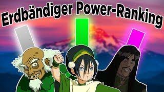 Power Ranking - Wer ist der stärkste Erdbändiger? | Avatar - Der Herr der Elemente (Deutsch)