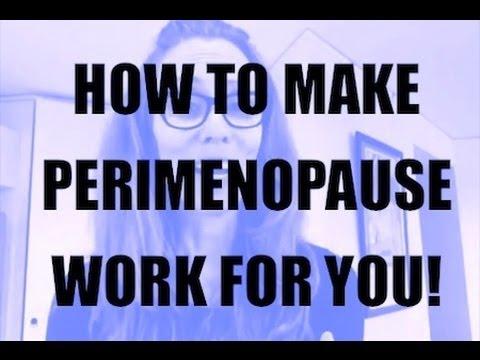 How To Actually Enjoy Perimenopause!