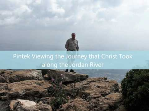 Mike Pintek Visits Holy Land Israel