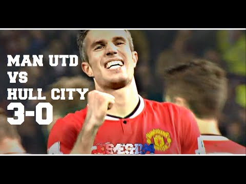 Manchester United vs Hull City 3-0 (HD)