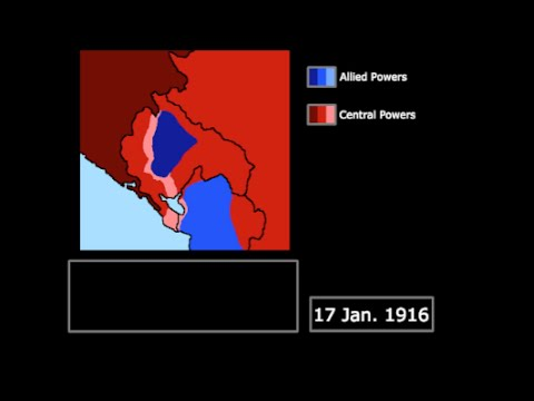 [WWI] The Fall of Montenegro (1916): Every Day