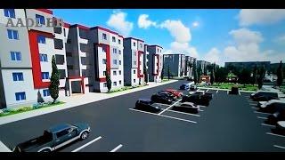 العالم الافتراضي لسكنات عدل الجلفة وكل مايتعلق بسكنات البيع بالايجار AADL 3D OPGI Djelfa
