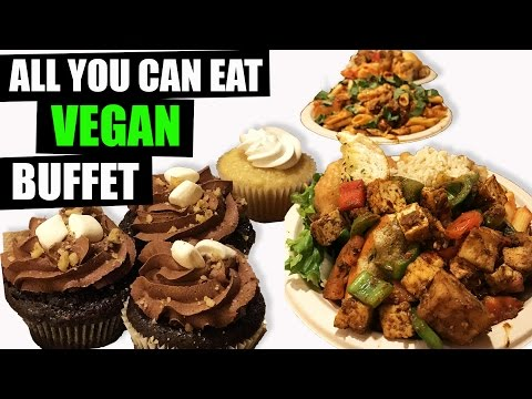 ALL You Can Eat VEGAN Buffet + What I Ate