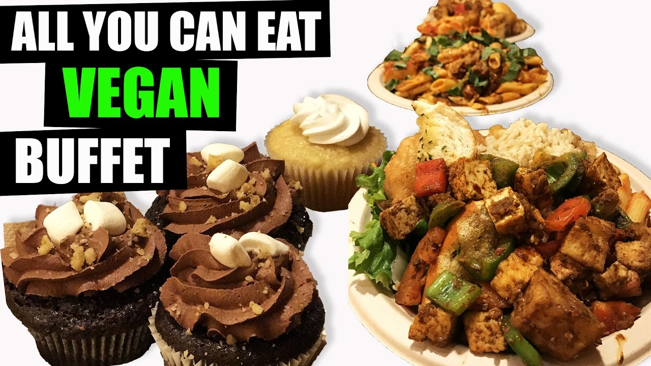 all you can eat vegan buffet what i ate youtube. Black Bedroom Furniture Sets. Home Design Ideas