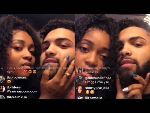 DOMO WILSON & LOU VALENTINO SAID THEY ARE JUST FRIENDS ON IG