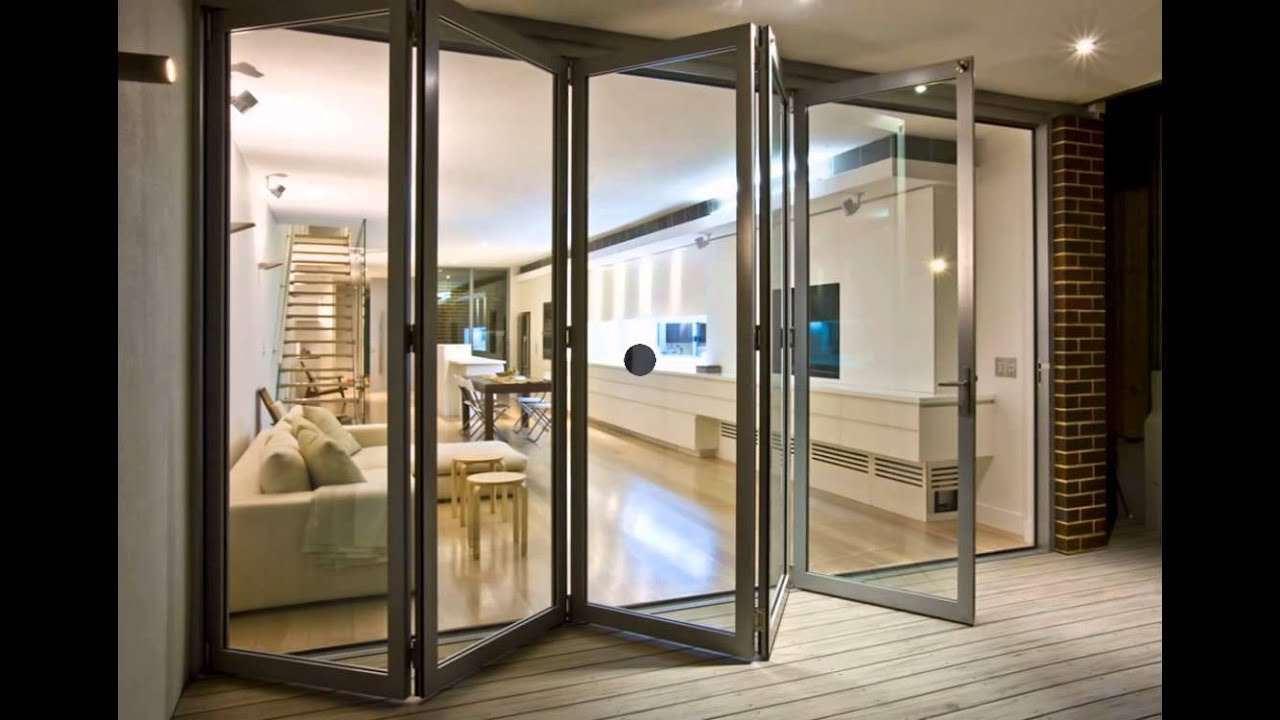bifold patio doors YouTube
