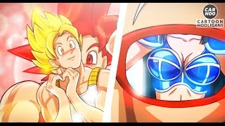 GOKU SAIYAN RANGERS ! LOL | PARODIA DRAGON BALL Y POWER RANGERS ANIMACIÓN