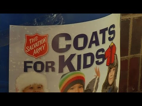 Salvation Army's Coats for Kids program begins