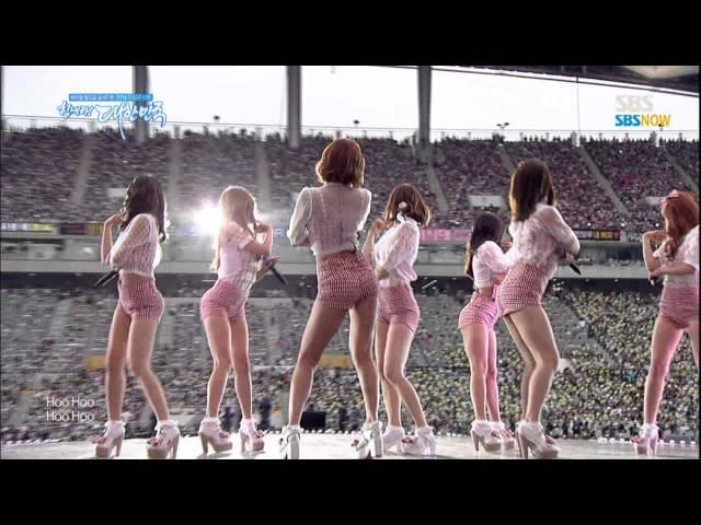 SBS 브라질 2014 특집 [드림콘서트] - 레인보우 'Tell Me Tell Me'