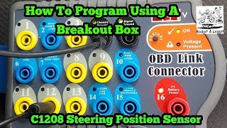 How To Program Models With A Breakout Box Toyota C1208 Steering Sensor Fix Bodgit And Leggit Garage