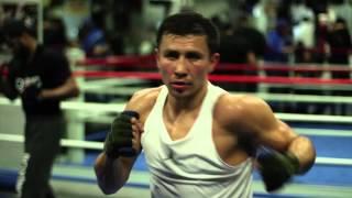 Gennady Golovkin Big Bear Media Workout - April 2016