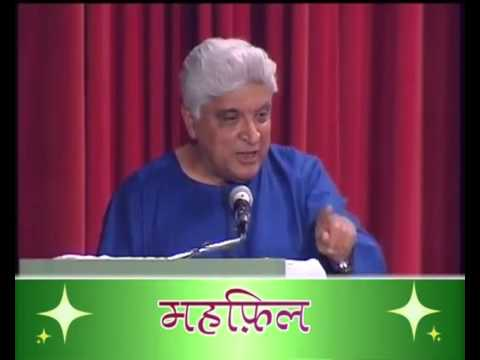 Javed Akhtar mesmerises audience with his shayri