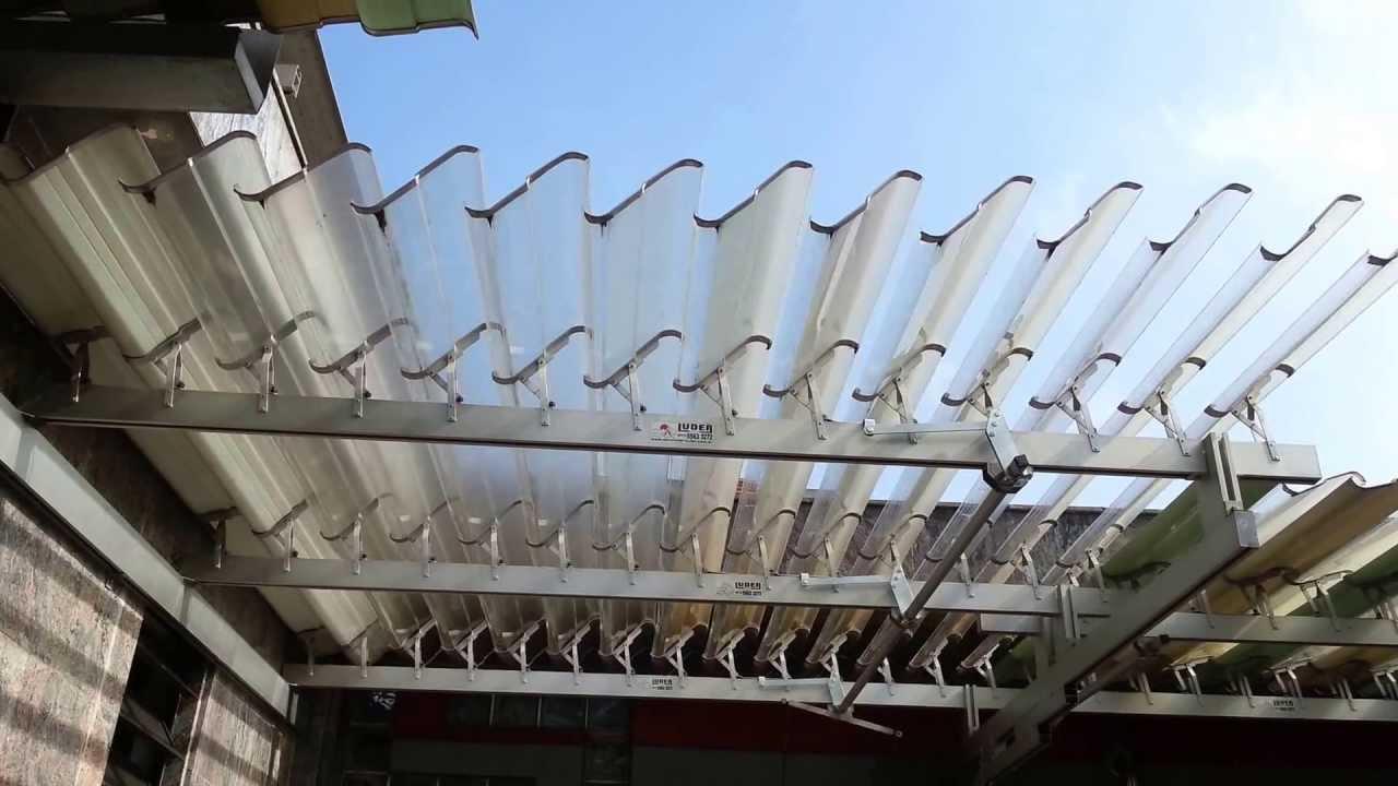 Cobertura clarilux 100 policarbonato youtube - Placa policarbonato transparente ...