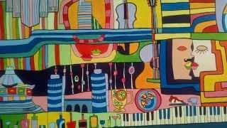Hundertwasser inspires (Хундертвассер вдохновляет)(В Украине (г. Днепропетровск) была создана монументальная живопись общей площадью 30 кв.м. Идея заключалась..., 2013-07-13T10:09:13.000Z)