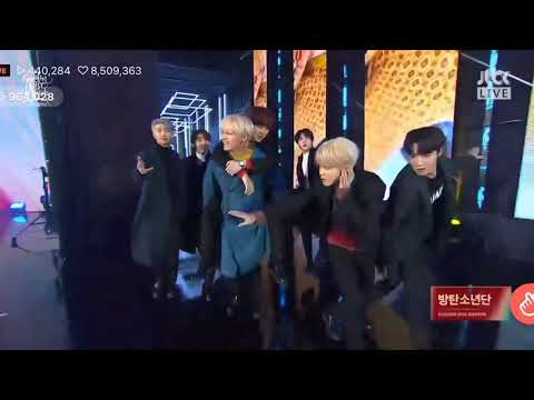 BTS entrance @ 33rd GOLDEN DISC AWARDS 2019 | Day 2