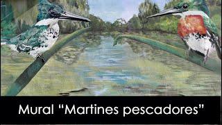 Mural Martín Pescador, por Pedro Vayu Gallinger