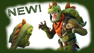 NEW Rex skin and Pick Squeak! Fortnite Battle Royale