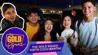 OTW TO AMERICA: FIRST STOP SA U.S., BAHAY NI COCO MARTIN | The Gold Squad
