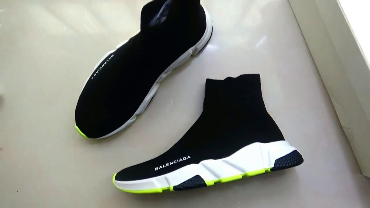 Balenciaga Speed Trainer Tricolor Sock
