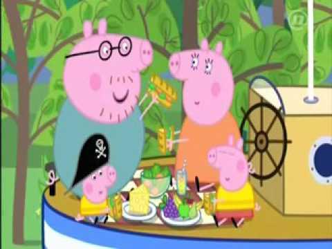 Peppa Pig - Praščić Pepa - Kapetan tata - Hrvatski