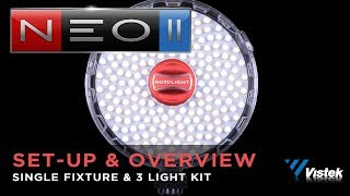 Rotolight NEO II  - Initial Set-Up & Overview of Features