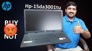 HP 15-da3001tu 10th Gen Intel Core i3 15 6-inch FHD Laptop Buy Or Not Unboxing amp Review Hindi