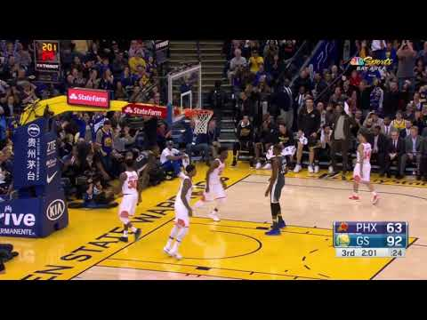 Nick Young steal leads to an Andre Iguodala dunk