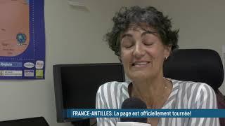 Fin d'activité pour le journal France-Antilles: une page de la presse locale se tourne !