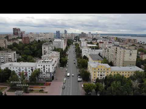 Город Самара / Октябрьский район / Drone Flight / Russia
